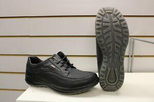 Grisport Livingston Black Leather Active Leisure Walking Shoes UK 11 EU 46 Italy