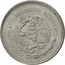 [#522539] Mexico, 10 Pesos, 1986, Mexico City, EF(40-45), Stainless Steel
