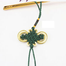 Chinese Knot Blessing Hanging Car Interior Decoration Bag Purse Pendant Green