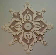 Ceiling rose/design, plaster, home décor, Victorian style.