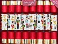 Robin Reed Traditional Christmas Cracker Paper Nutcracker Gifts Figure Surprise