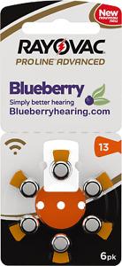 Rayovac Size 13 Orange Proline Advanced Best Hearing Aid Batteries - 60 Pieces