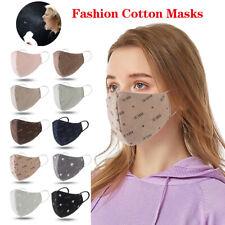 Unisex Cotton Masks Fashion Face Mask Breathable Resuable Washable Mouth Cover