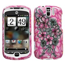 Bouquet Hard Case Snap on Cover HTC myTouch 3G Slide