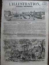 L'ILLUSTRATION 1857 N 764 LES METHODISTES DE NEW YORK