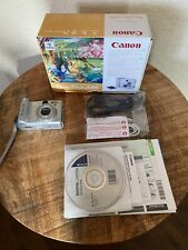 Canon PowerShot A95 5.0MP Digital Camera - Bundle Silver ( No Memory Card)