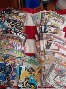 Mixed LOT OF 80+ ALL Marvel Copper age to Modern age