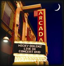 MICKY DOLENZ DIRECT! NEW 2014 DVD LIVE IN CONCERT FROM ARCADA THEATRE SIGNED 2U!
