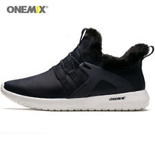 ONEMIX Men Winter Boots  High Sport Boots Warm Keep Outdoor Walking Sneakers