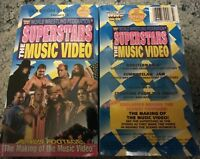WWE Superstars The Music Video VHS SEALED Coliseum WWF Macho Man Randy Savage