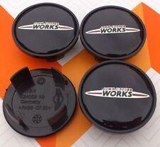 4x Mini John Cooper Works Caps Wheel Center Hub Cap Car Logo 54mm , UK Stock