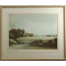 Original Signed Framed Ltd Ed Landscape Print 124/500 The Woodcutters John Bond