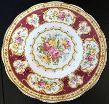 6 Vintage Royal Albert Lady Hamilton Crown China 7 Inch Pie Dessert Plates