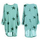 Women Loose Baggy Blouse T Shirt Tops Lagenlook Tunic Mini Short Dress Plus Size