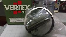 PISTONE VERTEX MINARELLI MOT IND 125cc Ø 55,5 6V FASCE SPINA  motore biella NEW