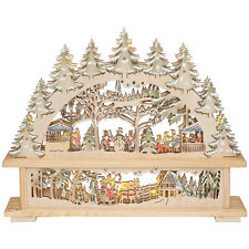 Weihnachten Advent LED Lichterbogen Erzgebirge