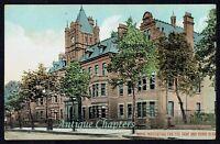1909 Royal Institution For The Deaf & Dumb Friar Gate Derby Derbyshire Postcard