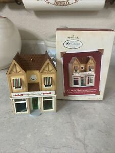 2002 Clara's Hallmark Store Hallmark Ornament Nostalgic Houses and Shops