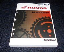 HONDA PIONEER 500,SXS500 REPAIR,SHOP,SERVICE MANUAL, BOOK 61HL504, 2015-2019