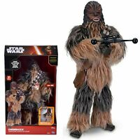 "Star Wars Chewbacca Animatronic Interactive 17"" Figure Toys R Us Exclusive"