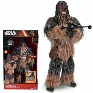 """Star Wars Chewbacca Animatronic Interactive 17"""" Figure Toys R Us Exclusive MOVIE"""