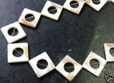 Quadratische Perlen-Form und kugeln, Strang Perlmutt