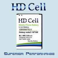 3500mAh HD Cell AKKU für Samsung Galaxy Note 2 N7100 /LTE N7105 N7102 EB595675LU