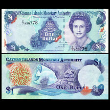"Cayman Islands 1 Dollar, 2006, P-33a, UNC>""C/7"""