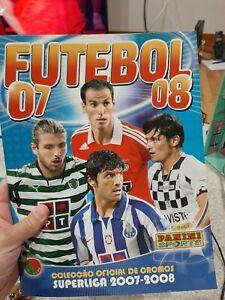 PANINI FUTEBOL 2007/08 PORTUGUESE LEAGUE COMPLETE CRISTIANO RONALDO