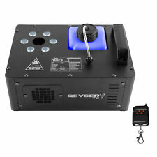 Chauvet DJ Geyser T6 Vertical Pyrotechnic-Like Fog Machine with 6 RGB LEDs