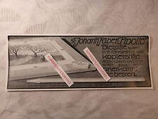 alte Werbung Reklame Anzeige Johann Faber Bleistifte Kopierstifte von 1913