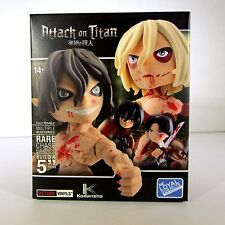 "Attack on Titan Vinyl posable RARE Chase figures Build 5"" Loyal Subject Walmart"