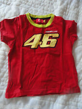 T-SHIRT enfant 46 VALENTINO ROSSI DUCATI 1/2 ANS THE DOCTOR TEE SHIRT VR46