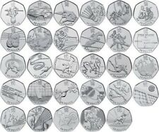 50p Fifty Pence Coins British Coin Hunt Rare Royal Mint Circulated Olympic