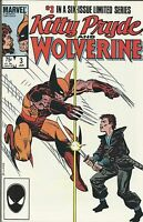 Kitty Pryde And Wolverine Comic Issue 3 Copper Age First Print Limited Series