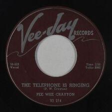 Blues 45 - Pee Wee Crayton - The Telephone Is Ringing - Vee-Jay - mp3