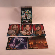 JOURNEY TO THE CENTER OF THE EARTH 3-D (2008) Complete Card Set BRENDAN FRASER