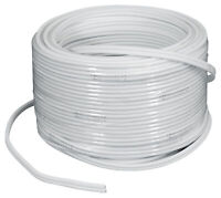 Rockville MARINE 16G100 OFC 16 Gauge 100 Foot 100% Copper Speaker Wire White