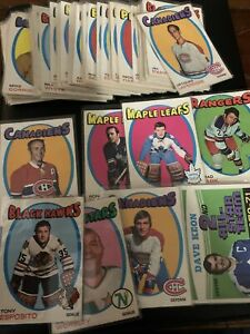 1971-72 OPC Hockey 60+ Lot G-VG Stars O-pee-chee Richard Esposito Keon Parent