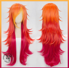 LOL League of Legends Miss Fortune Star Guardian Cosplay Wig Curly Long Hair z1