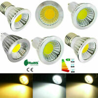 E14 E27 GU10 MR16 Lamp Dimmable Cree COB LED Spotlight Epistar Bulb 9W-15W