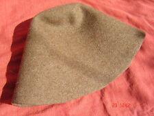 Hutstumpen Stumpen  Filz Zubehör Wolle mit Stichel  Zubehör Stumpen rehbraun 1-8