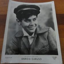 POSTER FOTO Portrait Enrico Caruso il miracolo di una voce