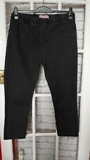 Womens Black Jeggings/jeans Size 18 TU
