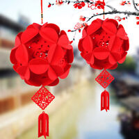 Hydrangea red lantern Pendant party decoration Wedding Venue Festival Supplie iv