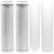 """5 Stage RO Water Filter Set 10"""" for Watts Premier-RO-TFM-5SV/4SV High Quality"""