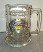 Los Angeles Lakers Logo Glass Mug / 2000 NBA Champions / Kobe Bryant Shaq