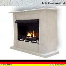 Ethanol Firegel Fireplace Cheminee Caminetti Chimenea Emily Deluxe Granite Gray