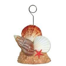 Seashell Photo/Balloon Holder Mermaid Luau Marine Life Party Birthday Decoration