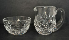 Waterford Lead Crystal Giftware Line Miniature Creamer & Sugar CRSUOM-Estate